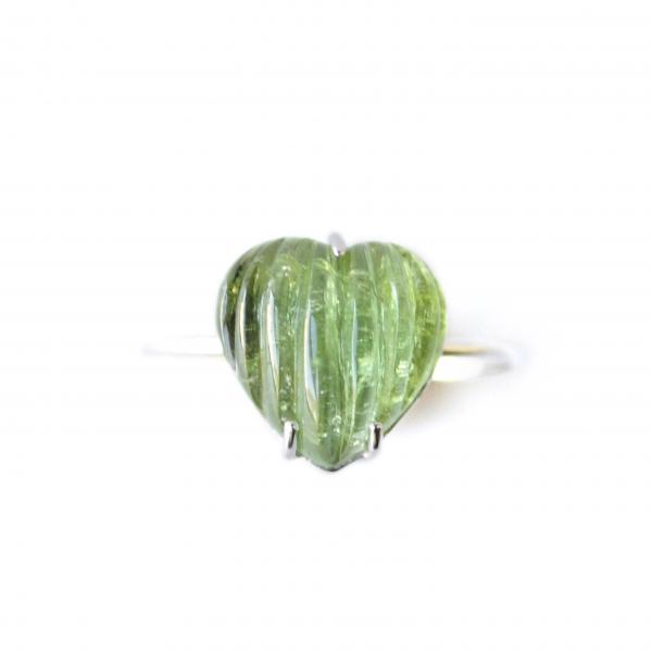 Anillo Green Heart