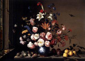Balthasar_van_der_Ast_-_Vase_of_Flowers_by_a_Window_-_WGA01048