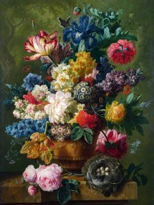 Full title: Flowers in a Vase Artist: Paulus Theodorus van Brussel Date made: 1792 Source: http://www.nationalgalleryimages.co.uk/ Contact: picture.library@nationalgallery.co.uk Copyright (C) The National Gallery, London